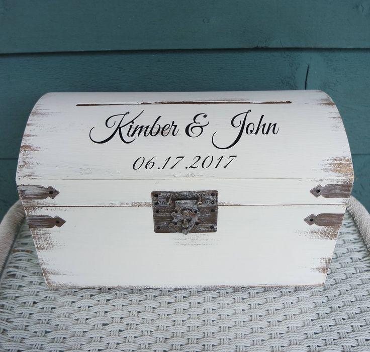 Keepsake Box, Memory Box, Wedding Box, Wedding Trunk, Card Box for Wedding, Card Box, Spring Wedding Box, Rustic Card Box, Card Trunk by CarmelOakDesigns on Etsy