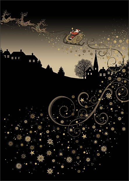 ✻BugArt Christmas Jewels ~ Rooftop Sleigh. CHRISTMAS JEWELS Designed by Jane Crowther.