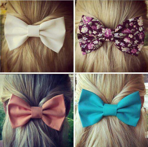 I love bows especially for your hair soooooo cute!!!