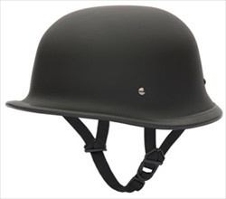 You want a unique Motorcycle Helmet that will turn heads? Look no further, our German Motorcycle Helmets will give you all the attention you seek. These Motorcycle Helmets get their style from helmets designed for German soldiers during the second World War. Turns out, these helmets make great motorcycle helmets while helping you stand out amongst your fellow bikers. Motorcycle Helmets