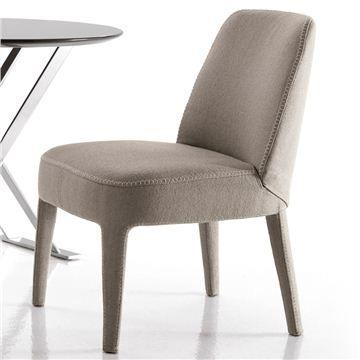 Maxalto Febo Dining Chair - Style # 2806N, Modern Dining Chairs - Contemporary Dining Chairs | SwitchModern