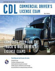 CDL - Commercial Driver's License Exam; Paperback; Author - Editors of REA