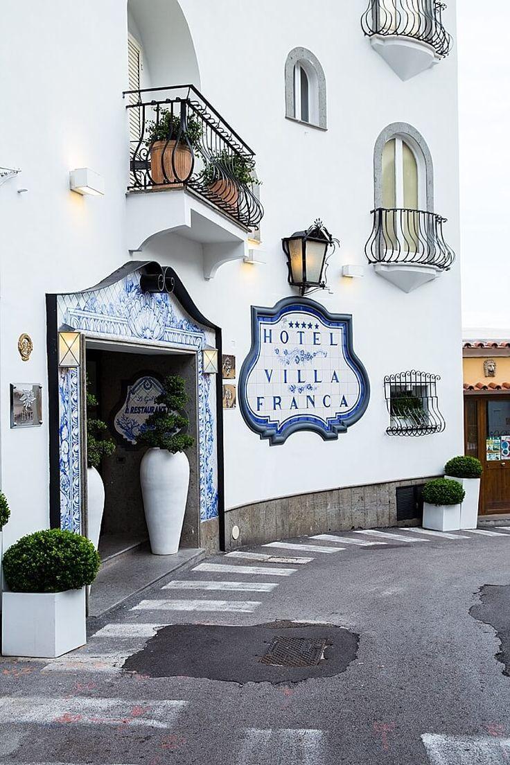 Hotel villa franca exterior positano