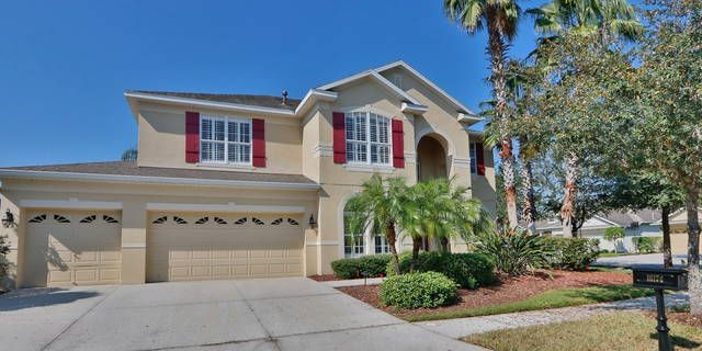 Beautiful four bedroom/four bathroom pool home in the New Tampa area near churches, schools, restaurants, YMCA, country club, movies, and shopping. Sporting tile and hardwood flooring with carpet in bedrooms. The fifth bedroom is being used as an office. Refrigerator, Range, Microwave, Dishwasher, Washer, and Dryer are included in the rental. Included in the rent amount are the weekly pool service, weekly yard service, and monthly yard treatment.