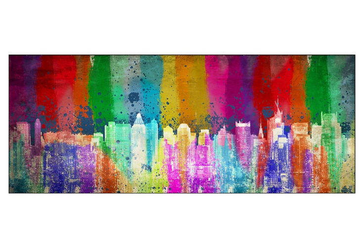 New York Pop Print / PTM FRAMES