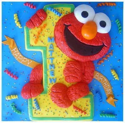 Pictures Elmo First Birthday Cake Ideas – Of Cakes