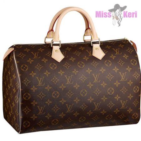 Купить сумку Louis Vuitton (луи виттон) Speedy Monogram 35, цена, интернет…