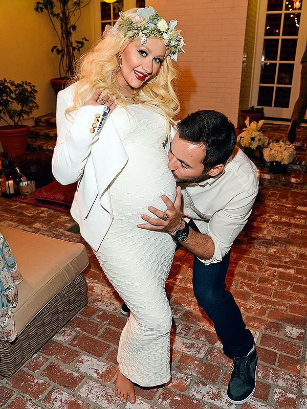 Christina Aguilera Celebrates Her Whimsical Baby Shower | People.com http://celebritybabies.people.com/2014/07/30/christina-aguilera-pregnant-baby-shower-photos/