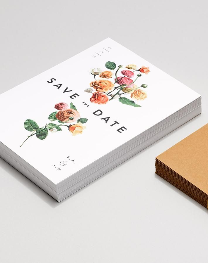 A Line Of Wedding Invitations Minimalist Brides Will Love