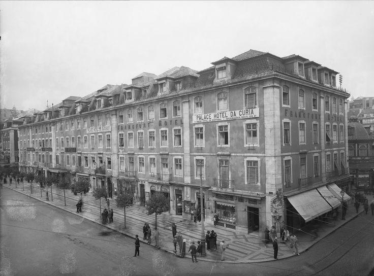 Hotel Francfort, Rossio, Lisboa.