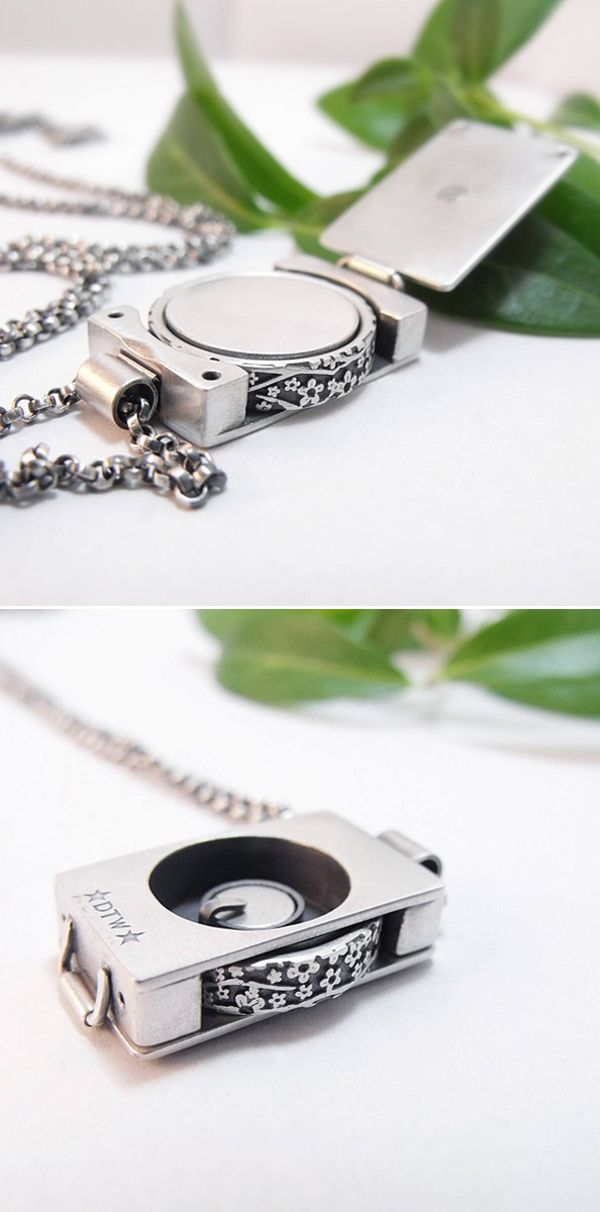 9 best handmade pendants and necklaces images on pinterest cord wedding band holder pendant sterling silver handmade by chuck domitrovich of down to the mozeypictures Choice Image
