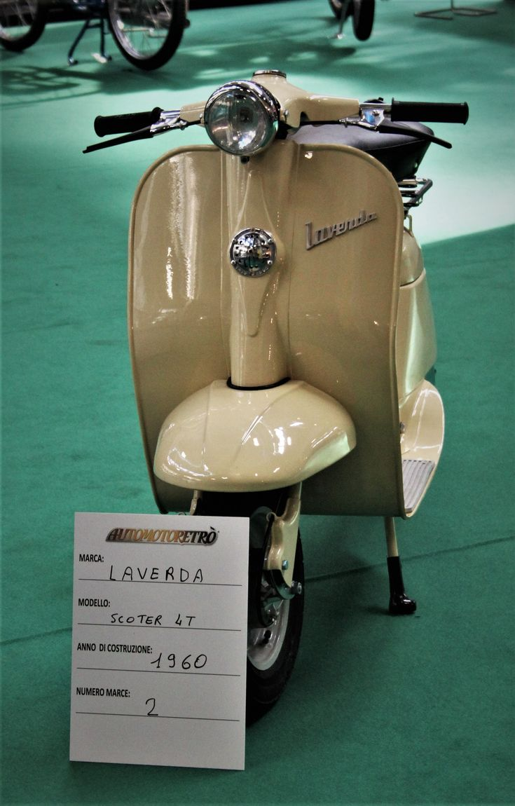 vespa#scooter laverda Scooters#vespa#lambretta and more! SCOOTERS & STYLE is a quarterly independant bi-lingual (French / English) magazine which essentially deals with the world of vintage-labeled scooter, as well as the lifestyle that characterizes their fans:
