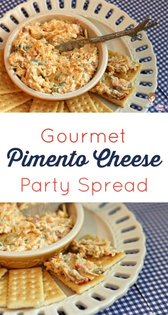 Homemade Three-Cheese Pimento Cheese Party Spread