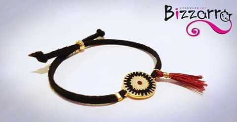 Bizzarro Boho Disc Bracelet