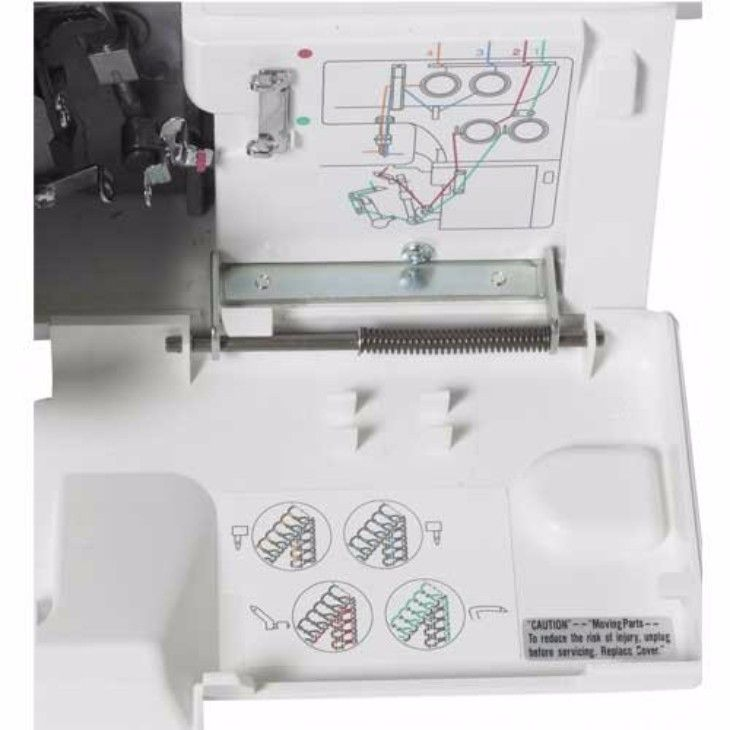 Revealing Janome 8002D Serger Review For An Undecided Buyer - http://sizzlestitch.com/janome-8002d-serger-review/