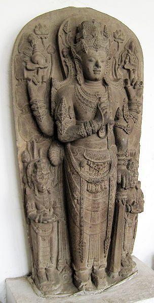 The statue of Harihara, Majapahit Kingdom