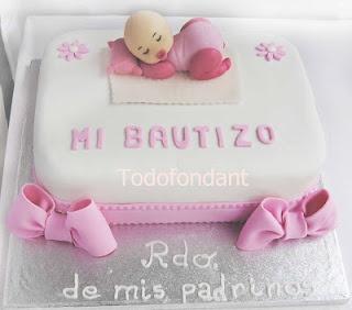 TODOFONDANT: Bautizos