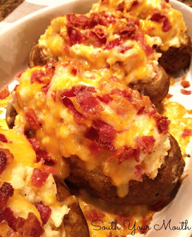 Mile-High Twice Baked Potatoes