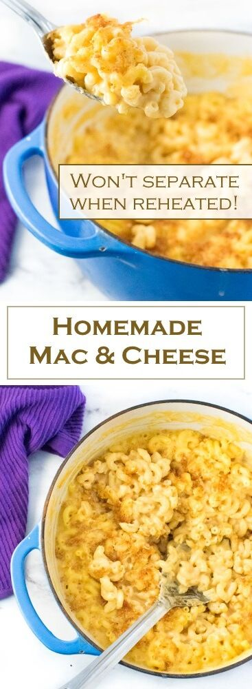 Homemade Mac and Cheese from scratch recipe via @foxvalleyfoodie