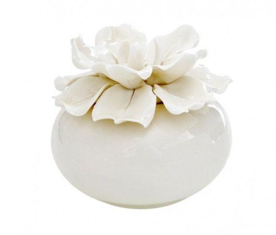 Diffusore Tondo Grande White Daisy Cm. 9 - Atelier Creative