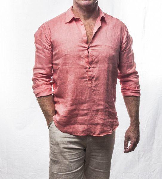 XX!! designer linen shirt $129