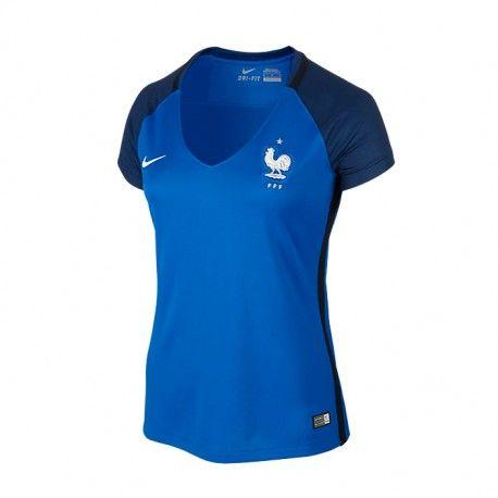 Maillot Equipe de France Euro Femme 2016 Domicile