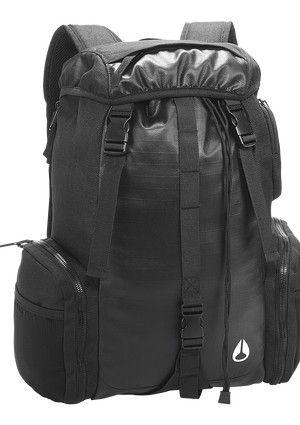 WaterlockII Rucksack - Black | Nixon Mens Bags