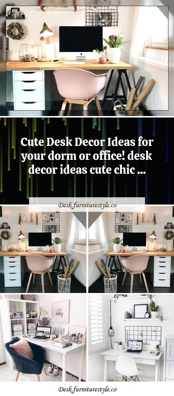 Office Desk Dormitoryoffice Desk Desk10 Cute Desk Decor Ideas For The Ultimate Workspace Arbe My Blog10 Cute Desk D Cute Desk Decor Desk Decor Desk