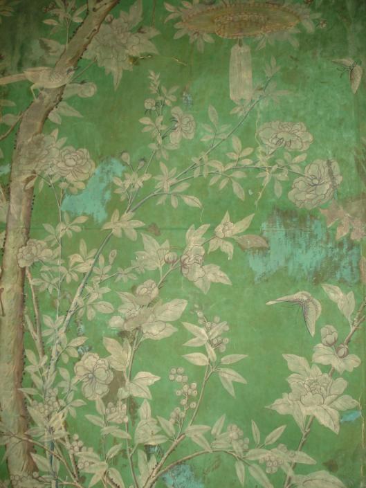 Eighteenth Century Chinese wallpaper at Bentley House