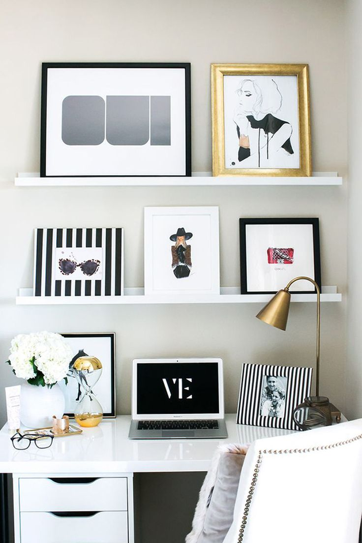 5 Desk Styling Tips Every Girl Boss Must Know - The Chriselle Factor