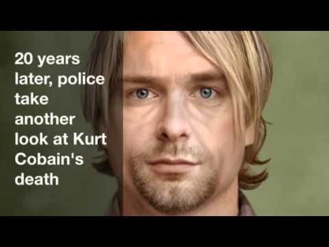 20 years later, police take another look at Kurt Cobain's death - YouTube