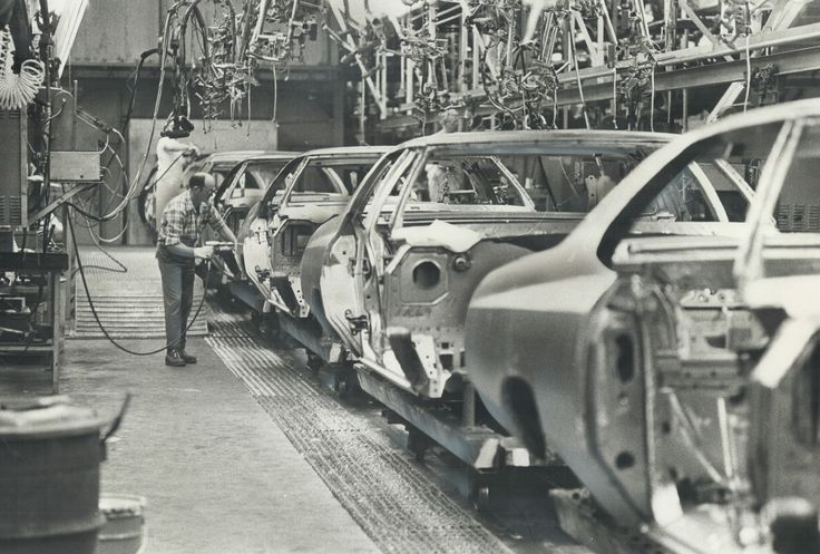 1973 Chevrolet & Buick Models LineUp Assembly Line Buick