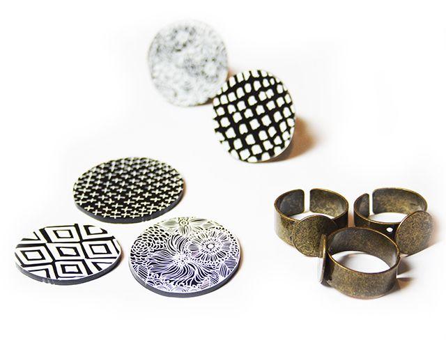 alisaburke: shrink plastic rings