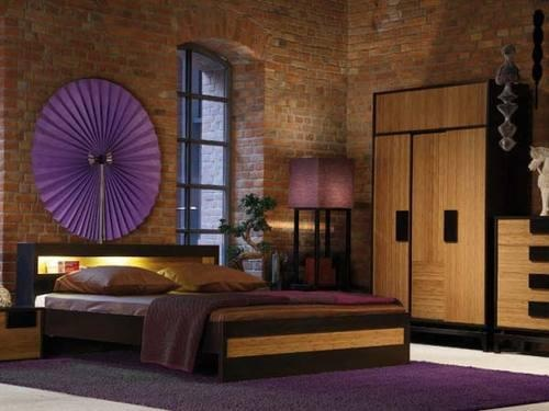 Spring 2012 Color Trends - Bellflower love the purple with the brick and wood!