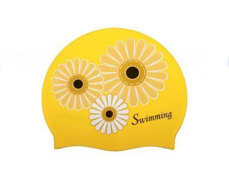 SAEKO Шапочка для плавания saeko flower сиреневая