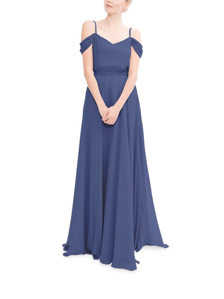 11 best blue dresses images on Pinterest | Backless bridesmaid dress ...