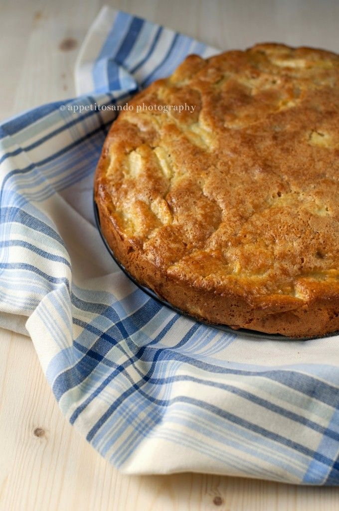 Torta di mele e noci con farina di farro | Appetitosando