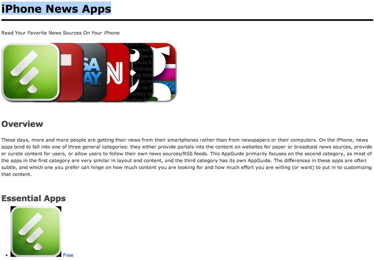 iPhone News Apps ➤ http://appadvice.com/appguides/show/news-and-breaking-news-apps-for-iphone - AppAdvice - 2012 05 21