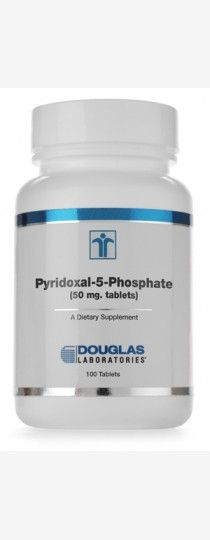 Pyridoxal-5-Phosphate by Douglas Laboratories Vitamin B6. Pyridoxal-5-Phosphate, supplied by Douglas Laboratories, provides 50 mg of Pyridoxal-5-Phosphate per each capsule.