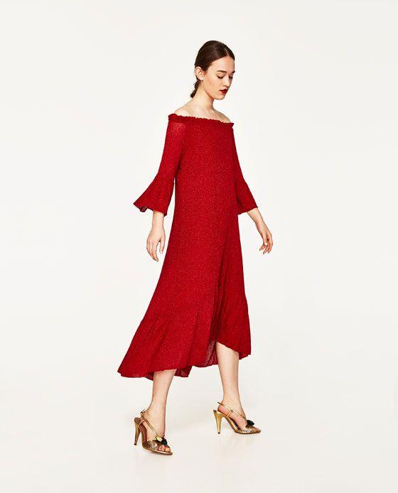 ZARA - WOMAN - BOATNECK DRESS