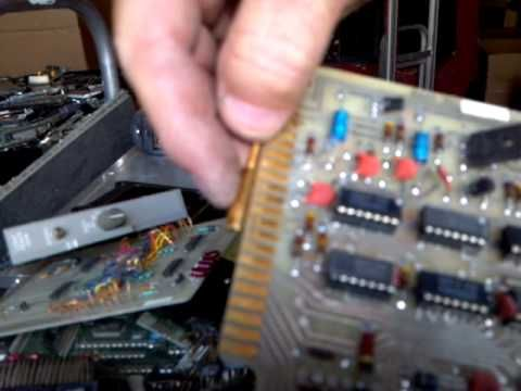 How To Identify GOLD, Brass, Painted Gold, etc. In Electronic Circuit Boards - YouTube