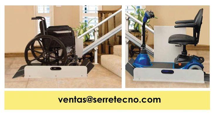 Sierra IL500, #plataforma de elevación inclinada para aplicaciones en interiores, únicamente para uso en escaleras con trayectorias rectas.