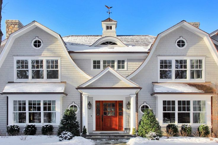 gambrel roof exterior victorian with gambrel roof traditional ...