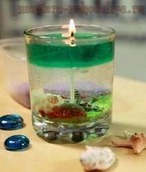 Мастер-класс: Гелевые свечи своими руками