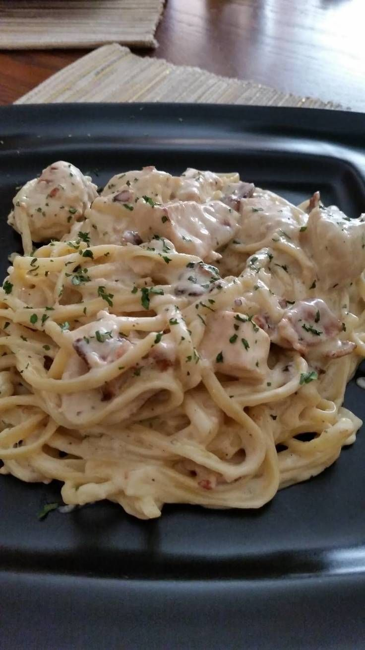 7 best Spaghetti carbarna images on Pinterest | Drink, Pasta meals ...
