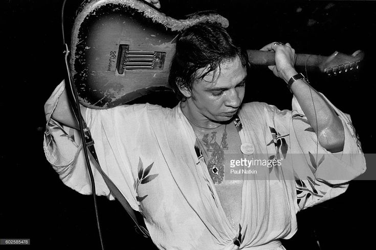 Stevie Ray Vaughn at Tuts in Chicago, Illinois, June 28,1981.