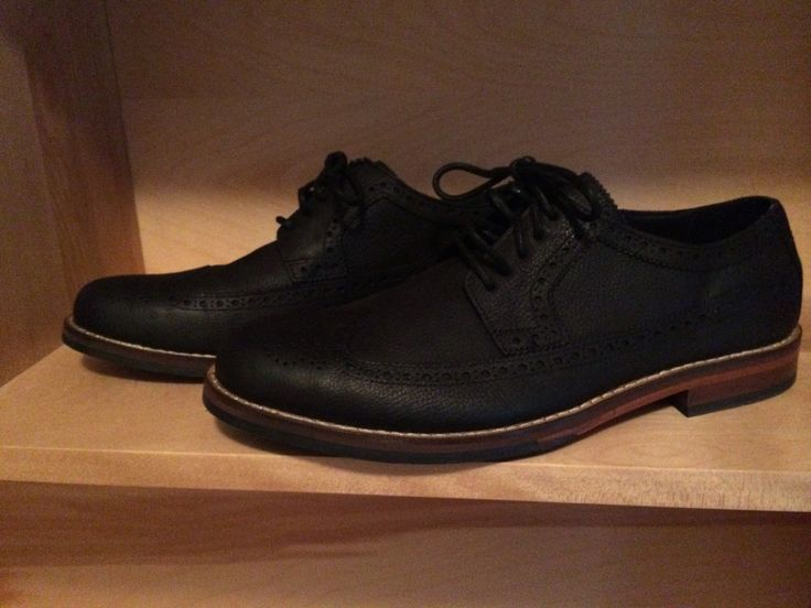 Cole Haan Jayhawker Wingtip Oxfords in Black Pebble from DSW