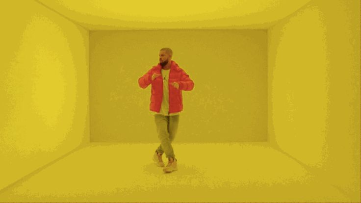Watch Drake bob, shimmy, and shuffle in the 'Hotline Bling' video