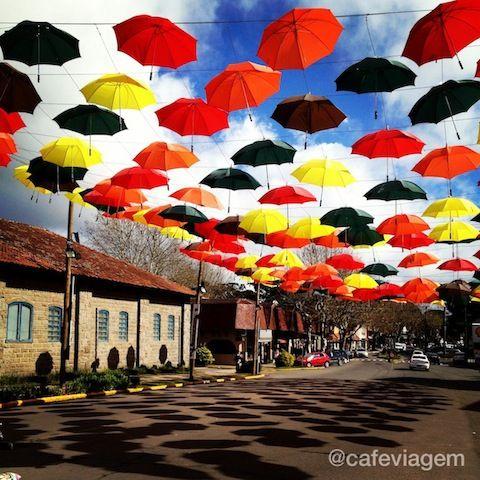 A rua principal de Canela,RS, linda!!!