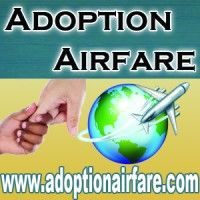 Adoption Airfare...amazing!  I just found this site that helps families adopting internationally to book and get discounts on flights!  Hopefully we can use them to help us when it's time to go pick up our girls!